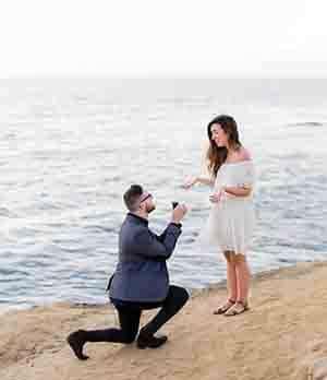 הצעת נישואין מרגשת